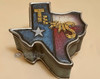 Rustic Western Style Trinket or Jewelry Box - Texas