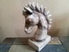 Navajo Horse Hair Pottery Statue