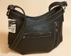 Texas Lone Star Purse - Vertical Zipper for Concealed Carry