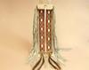 """Tigua Pueblo Indian Elk Hide Pipe Bag 20"""""""