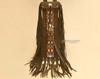 """Tigua Pueblo Indian Buffalo Hide Pipe Bag 20"""""""