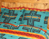 View of Two Cochiti Turquoise Shams together