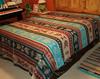 Nuevo Domingo Bright Southwestern Design Bedspread