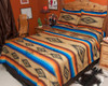 Southwestern Bedspread Saltillo Tan -Matching Shams Available Separately