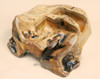 Rustic Carved Root Wine Rack - Holds Two Bottles