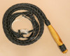 12' Leather and Wood Handled Whip