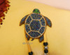 Hand Beaded Turtle Accents