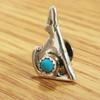 Native American Zuni Sterling Silver Pin -Wolf
