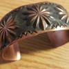 Navajo Indian Copper Cuff Bracelet