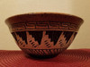 Etched Native American Bowl