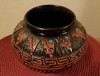 Collector's Etched Navajo Pottery Vase