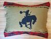 Western Rodeo Pillow Sham -Bronco