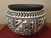 Hand etched and Painted Pueblo Pottery