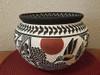 Acoma Hand Painted Pottery Vase - Hummingbird