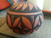 Hand Painted Acoma Seed Pot