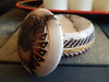 Hand Etched Navajo Horse Hair Color Band Pottery -Jewelry Box