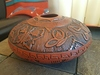 Navajo Hand Etched Pottery Vase