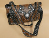Two Handled Faux Leather Purse