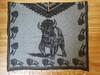 Mexican Style Buffalo Blanket Poncho - Black & Gray