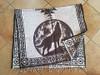 Mexican Blanket Poncho -Spirit Wolf