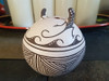 Native American Hand Painted Zuni Pottery Vase
