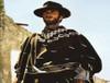 Mexican Falsa Blanket Poncho Clint Eastwood -Black 2bc41