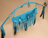 Native American Bow, Quiver & Knife Set -Turquoise