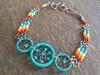 Peruvian Native Beaded Bracelet