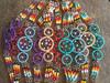 Bulk beaded dreamcatcher bracelet in assorted colors