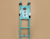 Tarahumara Hand Painted Dreamcatcher Ladder