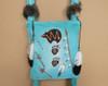Hand Painted Kiva Ladder -Bear Turquoise