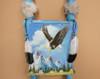 Hand Painted Kiva Ladder -Soaring Eagle