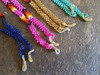 Assorted Southwestern design glasses lanyard with rubber loops