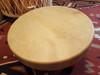"""Premium Native American Deer Hide Hoop Drum 20"""" -Cherokee (32d20)"""