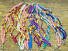 Bulk beaded bracelet in assorted colors
