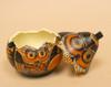 Andean Owl Gourd Box