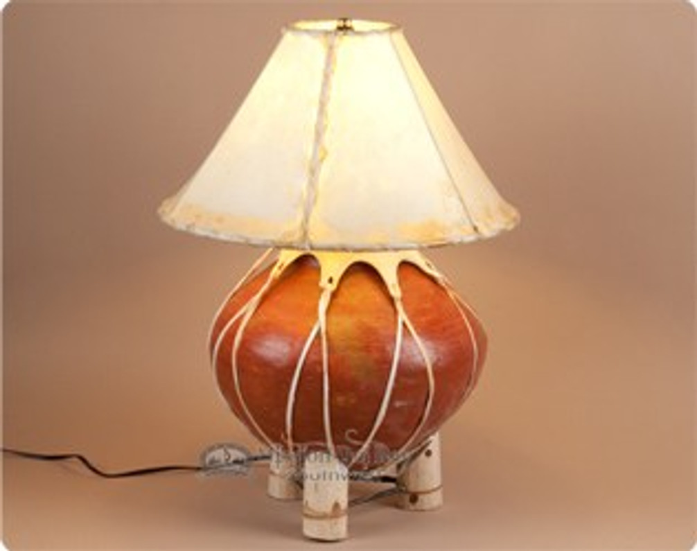 How to Use Rawhide Lamp Shades for Rustic Lamps & Decor