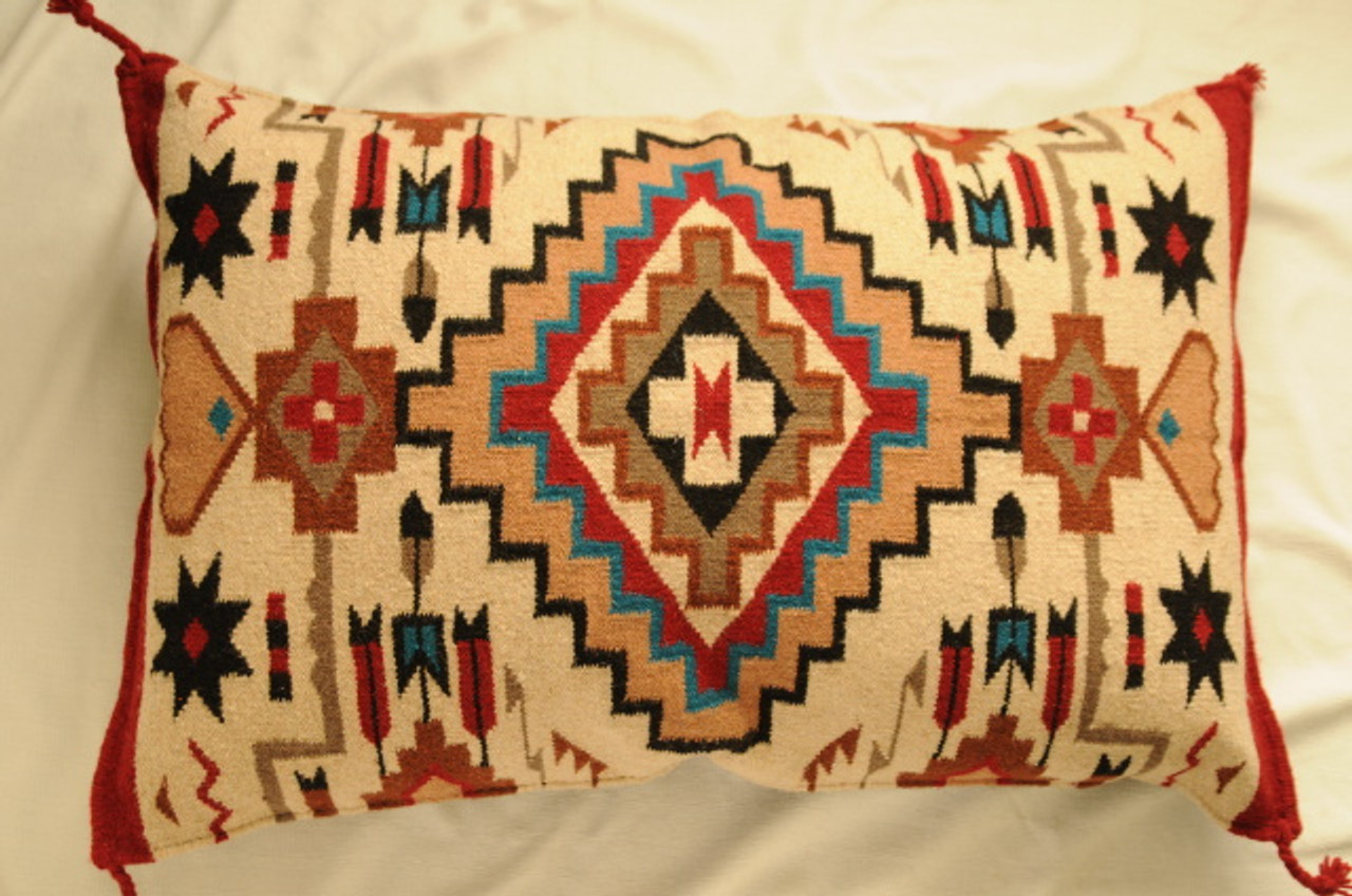 RAWHIDE PILLOW PANEL BROWN