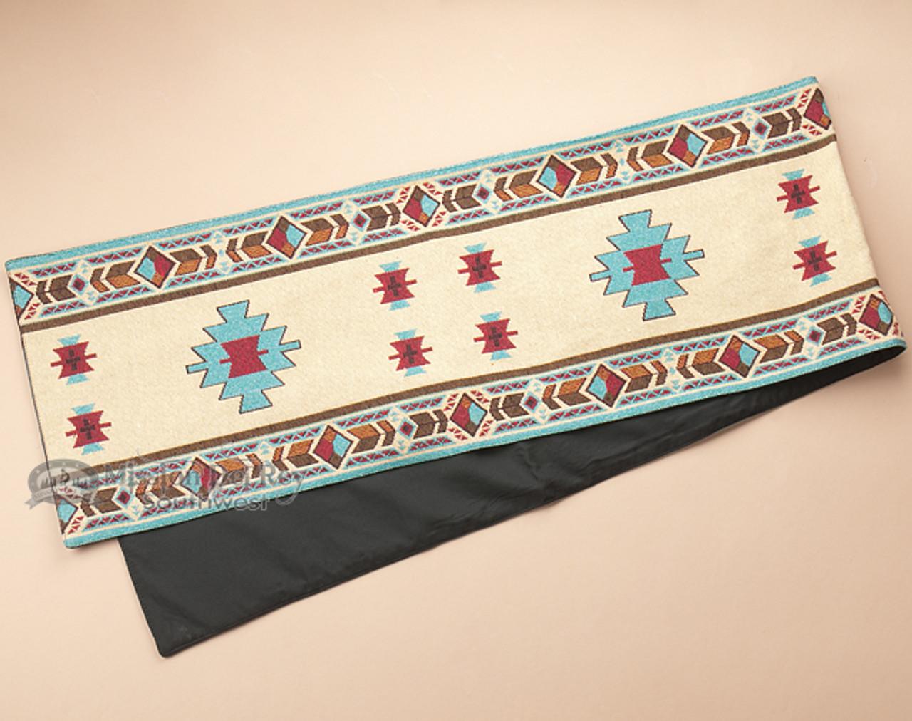 Southwestern Style Tapestry Table Runner 13x72 Hopi T59