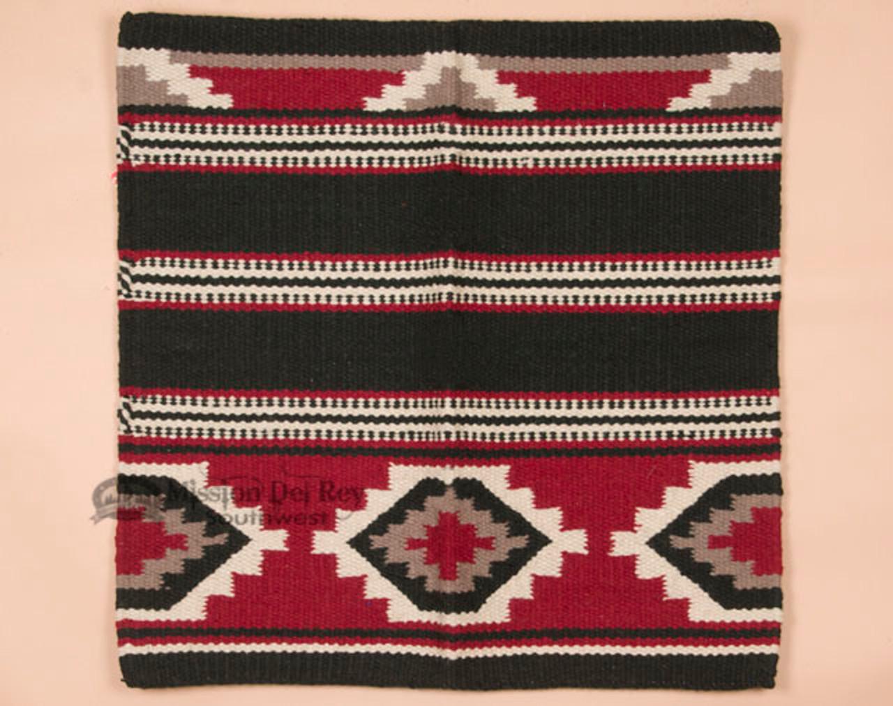 "Pink//Soft Pink Reversible Wool Western Saddle Blanket 38/"" X 34/"""