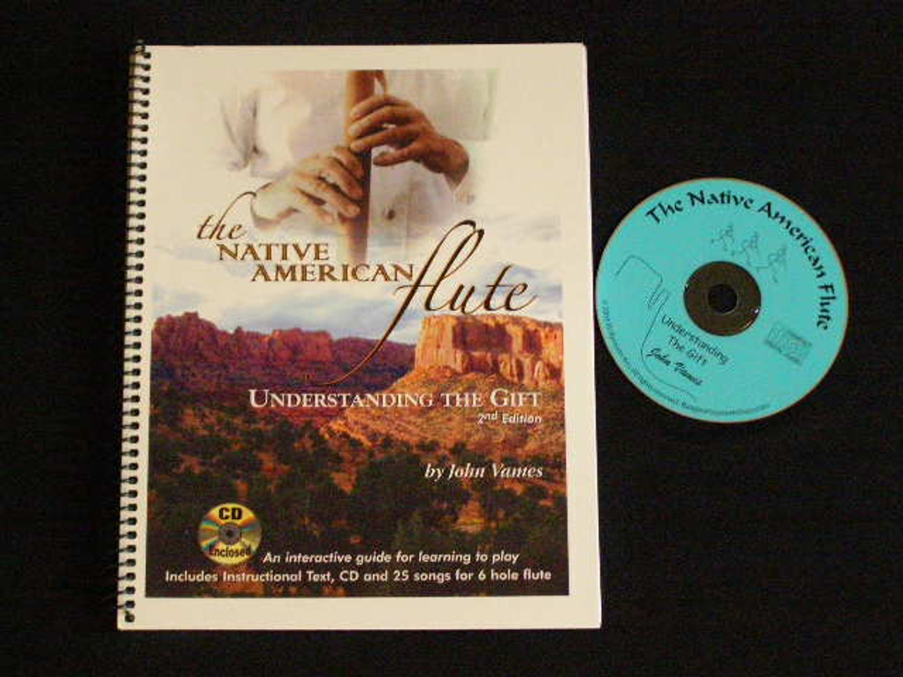 Jonah Thompson NATIVE AMER FLUTE /& John Vames Instruction Book Package