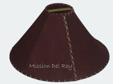 Brown Leather Lamp Shades
