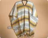 Mexican Falsa Blanket Ponchos