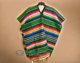 Mexican Serape Blanket Ponchos