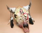 Southwest & Western Painted Steer Skulls