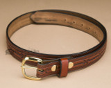 Amish Handcrafted Men's Leather Belts