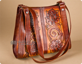 Tooled Leather Purses & Bags