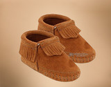 Infant's Fringed Bootie Moccasins