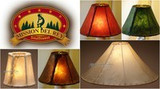 Use These Ideas For Western Decorating With Rawhide Lamp Shades
