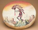 Create Authentic Southwest Style Decor With Painted Drums